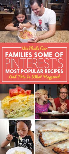 We Fed Our Kids Some Of Pinterest's Most Popular Recipes And This Is What Happened