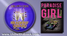 CHILL WITH A BOOK AWARDS: Paradise Girl by Phill Featherstone