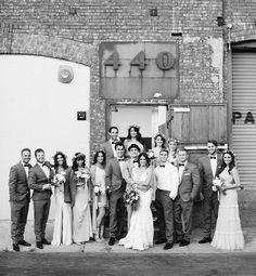 440 seaton wedding party