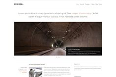 WordPress Themes: Klasik Themes - Minimal WordPress Theme