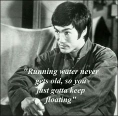 Bruce Lee: One of Bruce's legs was almost a whole inch longer than the other, causing pain from the misalignment of his spine, which he had to overcome through weight training and conditioning. Positive Quotes, Motivational Quotes, Inspirational Quotes, Kung Fu, Eminem, Wisdom Quotes, Life Quotes, Martial Arts Quotes, Bruce Lee Martial Arts