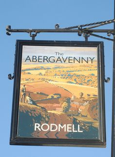 The Abergavenny pub sign, Rodmell East Sussex by pondhopper1, via Flickr