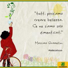 La bellezza secondo Massimo Gramellini. La bellezza secondo noi -> http://www.legambiente.it/bellezza  #bellezzafuturo