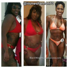 Transformation of the Day: Shannon lost 60 pounds and transformed her body. At 39 years old, she decided that she would be fit at 40 and cast off depression and low self esteem. She learned about effective fitness and nutrition through an awesome local boot camp and great trainers. Now, she is a personal trainer and NPC figure competitor.