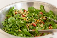 Summer Corn, Tomato, and Chickpea Salad, Wholeliving.com