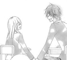 Manga kawaii couple  #manga #mangaanime #art #blackandwhite #love #kawaii #cute #ezmkurd #مانجا #مانجا_كاواي #انمي_ابيض_واسود #كيوت