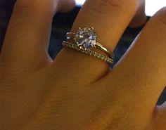 solder engagement and wedding ring