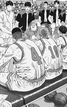 Manga Drawing, Manga Art, Manga Anime, Slam Dunk Manga, Anime Pixel Art, Basketball Art, Black And White Wall Art, Manga Covers, Harry Potter