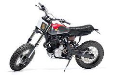 Honda NX650 by dreamwheelsheritage