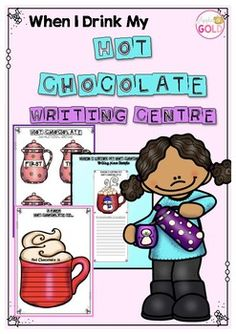 Winter! The perfect time of year to drink some hot chocolate! This pack is filled with a selection of different writing pieces for your centers. I have included a variety of printable activities that will cater for all your students. Differentiation is important and this pack provides that!*Hot chocolate pictures and wordsInformative writing:* Hot Chocolate Recipe and printables* First, Next, then Finally coloured/black and white jugs for recipe writing* Differentiated sheets to go along…