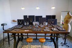 LUCUIX Showroom Beatriz Sasiain SS13 Showroom, Conference Room, Display, Table, Furniture, Home Decor, Floor Space, Decoration Home, Billboard