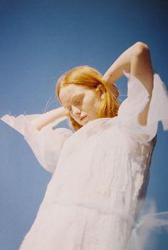 Julia Baylis x India Menuez — Shot By Petra Collins | Fashion Magazine | News. Fashion. Beauty. Music. | oystermag.com