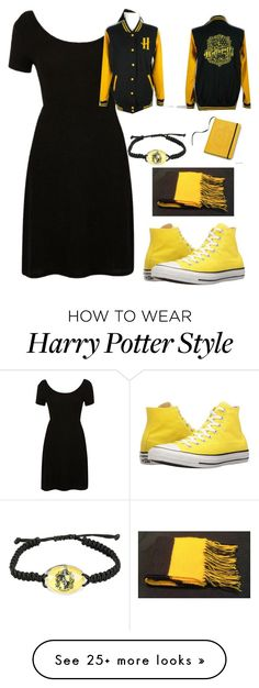 """""""Untitled #972"""" by twisted-magic on Polyvore featuring River Island, Converse and Warner Bros."""