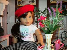 "How To Make - A Doll Beret for 18"" Dolls"
