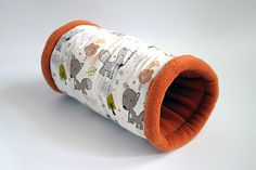 cosy cuddle tunnel / roll for guinea pigs or by TheCosyHut on Etsy Guinea Pig Supplies, Class Pet, Guinea Pigs, Cuddle, Cosy, Hedgehog, Pepper, Pets, Handmade Gifts