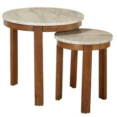 Caison 2 Piece Nesting Tables