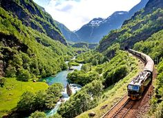 would love to train through Norway again.  Flam Railway