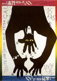 Rene Wanner's Poster Page & Pierre Bernard - Saul Bass, Graphic Design Posters, Graphic Art, Graphic Designers, Love Design, Retro Design, Pierre Bernard, Typographic Poster, Typography