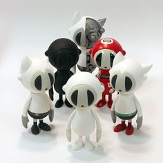 Revolutionary Artists, Character Art, Character Design, Robots Characters, Misfit Toys, Image 3d, Lego, Monster Art, Vinyl Toys