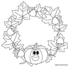Autumn Crafts, Fall Crafts For Kids, Summer Crafts, Art For Kids, Fall Coloring Pages, Coloring Sheets, Monkey Crafts, Easy Halloween Decorations, Crafts For Seniors
