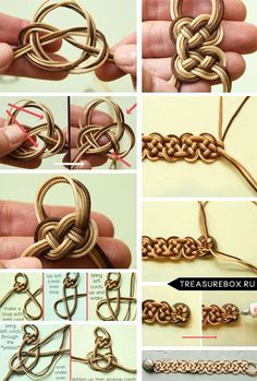 bracelets made with shoe laces