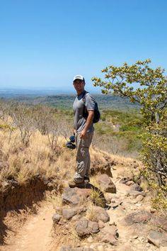 hiking rincon de la vieja national park - view of the hiking trail to la cangreja waterfall