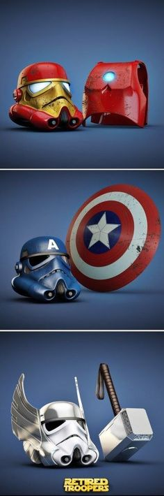 Stormtroopers Marvelized!