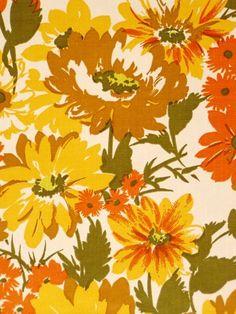 Image result for floral pattern 60s