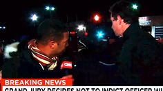 CNN Anchors Photobombed by TYT Fan During Ferguson