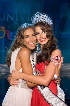 Back to back Venezuela in Miss Universe Dayana Mendoza (Miss Universe 2008) to Stefanía Fernández (Miss Universe 2009)