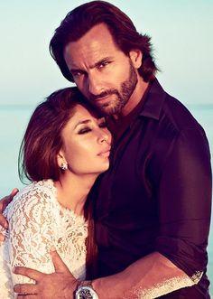 Bollywood couple Saif Ali Khan and Kareena Kapoor Bollywood Stars, Bollywood Couples, Bollywood Photos, Bollywood Girls, Vintage Bollywood, Indian Celebrities, Bollywood Celebrities, Bollywood Actress, Saif Ali Khan