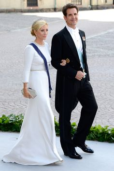 Crown Princess Marie-Chantal with her husband Crown Prince Pavlos of Greece