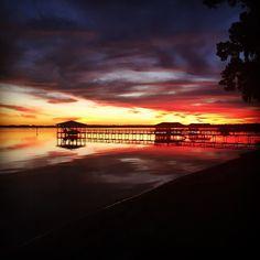 Sunset at Lake Waccamaw