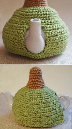 Сказочная грелка на чайник с ежиком крючком. Обсуждение на LiveInternet - Российский Сервис Онлайн-Дневников