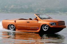 世界最速の水陸両用車!かっこよすぎ。