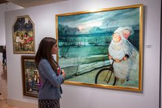 Enjoy fine arts exhibits at the Turchin Center for the Visual Arts | Downtown Boone, NC