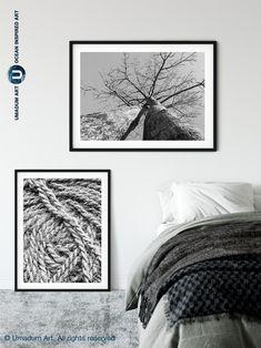 #BlackAndWhite #BAndWPhotography #Madagascar #BaobabTree #AboveBed Above Bed Decor, Baobab Tree, Wave Art, Tree Print, Muted Colors, Minimalist Decor, Modern Wall Art, Wall Ideas, Madagascar
