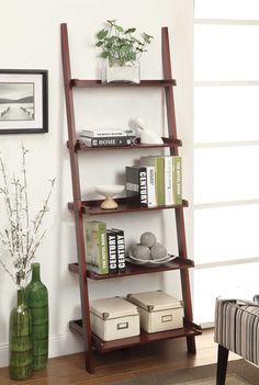 """Sandstrom 72"""" Ladder Bookcase"""