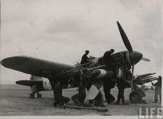 RAF Hawker Typhoon. England, 1945