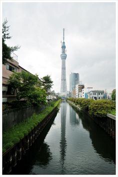 Tokyo Sky Tree / 東京スカイツリー(完成前) http://www.siragazome.jp/somegatari/03/index.html