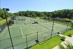 Just north of Charleston, SC, the DeBordieu Tennis Program is second to none!