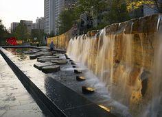Citygarden - null - Crystal Fountains