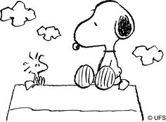 Watching Charlie Brown specials and reading the Peanuts comic strip with my dad (who was a HUGE Snoopy fan)