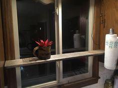 A Quick Shelf for My Kitchen Window