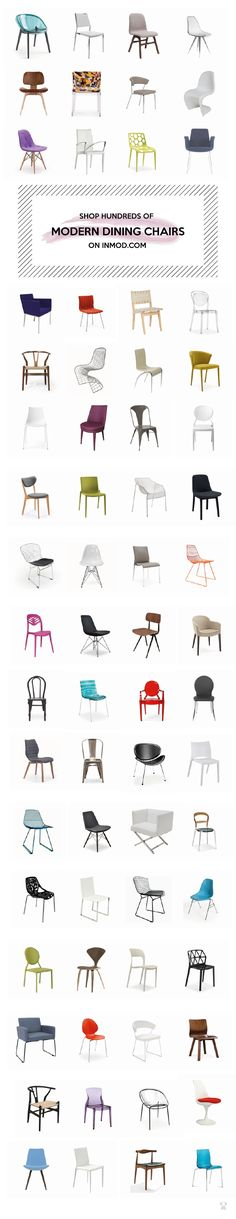 Shop hundreds of modern dining and side chairs for your space on inmod.com
