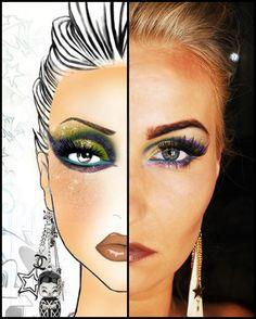 Face Chart part1 – Makeup Geek