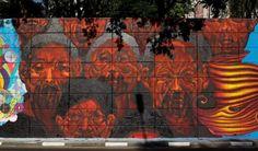 30 MELHORES MURAIS DE ARTE DE RUA BRASILEIRA DE 2015