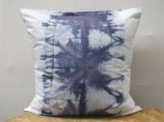 ON SALE Shibori Pillow Shibori Throw Pillow cover by AddisonMade