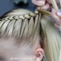 Stunning hairstyle hope you like it hairstyles hair hairgoals hairstylist hairstyling hairart hairoftheday hairdresser haironfleek 7 new braided hairstyles to try now Girl Hair Dos, Baby Girl Hairstyles, Toddler Hairstyles, Simple Girls Hairstyles, Softball Hairstyles, Blonde Hairstyles, Beautiful Hairstyles, Natural Hairstyles, Hair Upstyles