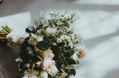 We love the textures in this bouquet. So pretty!